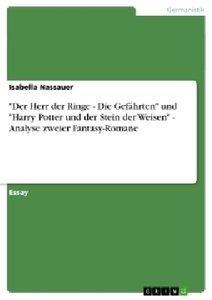 """""""Der Herr der Ringe - Die Gefährten"""" und """"Harry Potter und der S"""
