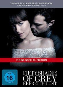 Fifty Shades of Grey - Befreite Lust, 2 DVD (DigiBook)