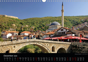 Monuments of Kosovo 2020 (Wall Calendar 2020 DIN A3 Landscape)