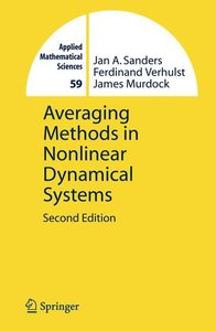 Averaging Methods in Nonlinear Dynamical Systems