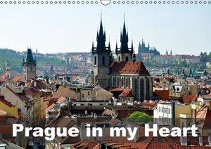 Prague in my heart (Wall Calendar 2015 DIN A3 Landscape)