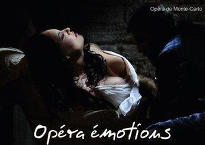 Opéra émotions (Livre poster DIN A3 horizontal)