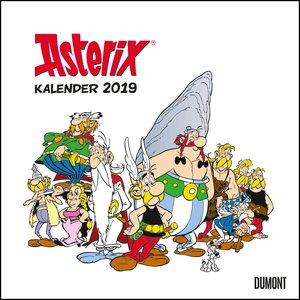 Asterix 2019 - Wandkalender im Quadratformat 24 x 24 cm