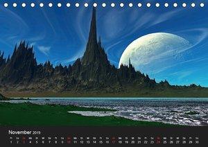 Fantasie-Planeten (Tischkalender 2019 DIN A5 quer)