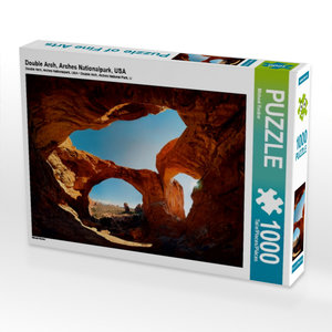 Double Arch, Arches Nationalpark, USA 1000 Teile Puzzle quer