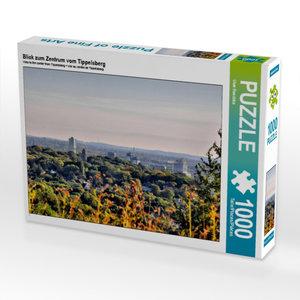 Blick zum Zentrum vom Tippelsberg 1000 Teile Puzzle quer