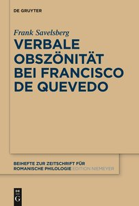 Verbale Obszönität bei Francisco de Quevedo