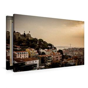 Premium Textil-Leinwand 90 cm x 60 cm quer Panorama