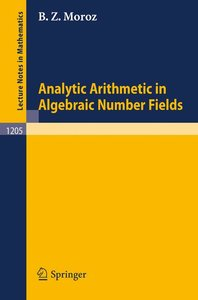 Analytic Arithmetic in Algebraic Number Fields