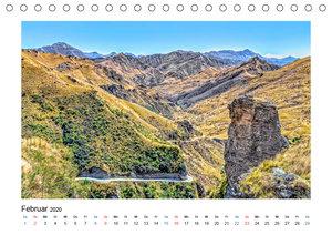 Neuseeland - Skippers Canyon (Tischkalender 2020 DIN A5 quer)