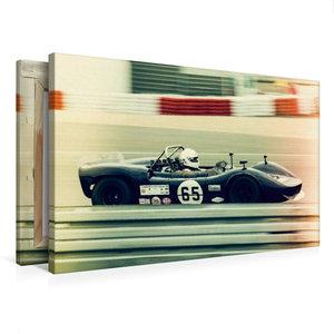Premium Textil-Leinwand 75 cm x 50 cm quer Roaring V8 Engines