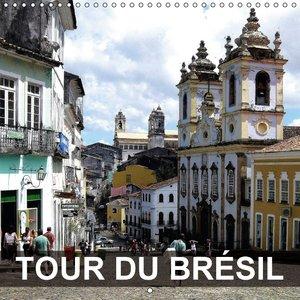 Tour du Brésil (Calendrier mural 2015 300 × 300 mm Square)