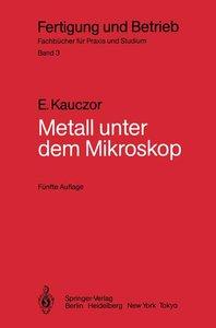 Metall unter dem Mikroskop