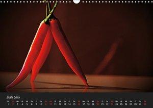 Hot Chili Küchen Kalender österreichisches KalendariumAT-Version