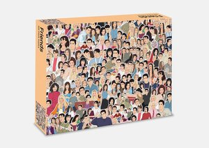 Friends: 500 Piece Jigsaw Puzzle