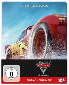 Cars 3: Evolution Steelbook
