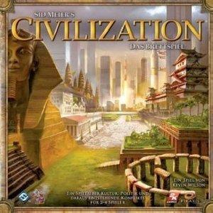 Heidelberger Spieleverlag HE335 - Civilization, Brettspiel, deut