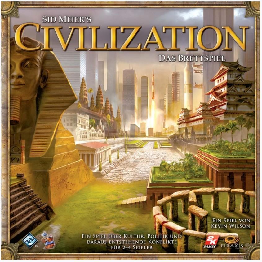 Heidelberger Spieleverlag HE335 - Civilization, Brettspiel, deut - zum Schließen ins Bild klicken