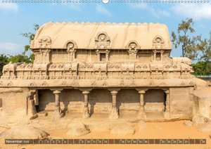 Indien - Mahabalipuram (Wandkalender 2020 DIN A2 quer)
