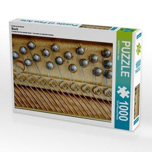 Ein Motiv aus dem Kalender Musik 1000 Teile Puzzle hoch