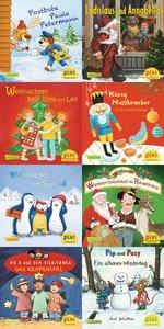 Pixi-Weihnachts-8er-Set 34: ABC, Pixi lief im Schnee (8x1 Exempl
