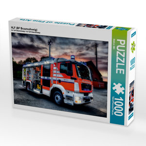 HLF (BF Braunschweig) 1000 Teile Puzzle quer