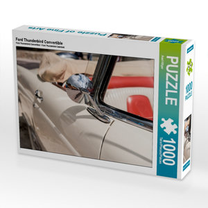 Ford Thunderbird Convertible 1000 Teile Puzzle quer