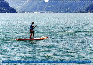 Stehpaddeln - Der neue Wassersport (Wandkalender 2020 DIN A3 que