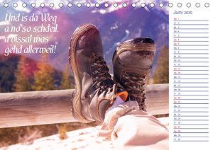 I sog\'s auf boarisch. Kalender mit bayerischen Sprüchen. (Tisch