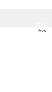 Taschenkalender Modus geheftet Einlage 2018