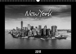 NEW YORK - Manhattan skyline 2018 (Wall Calendar 2018 DIN A3 Lan