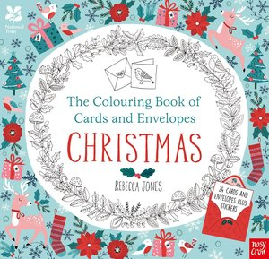 The National Trust: Colouring Book of Cards and Envelopes: Chris