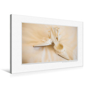 Premium Textil-Leinwand 75 cm x 50 cm quer Emotional Moments: A
