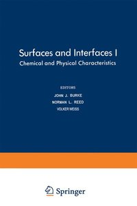 Surfaces and Interfaces I