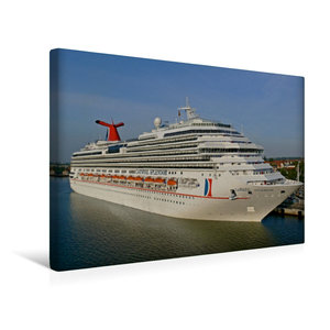 Premium Textil-Leinwand 45 cm x 30 cm quer Kreuzfahrtschiff CARN