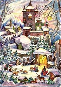 """Adventskalender \""""Weihnachten bei der Burg\"""""""