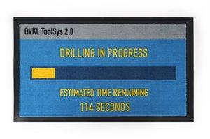 Payday 2 - Fußmatte - Drilling in Progress