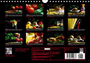 Pasta KreationenCH-Version (Wandkalender 2019 DIN A4 quer)