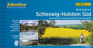 Bikeline Radatlas Schleswig - Holstein Süd