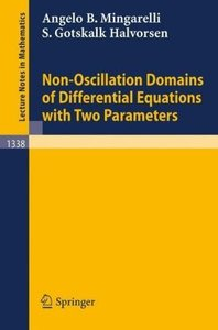 Non-Oscillation Domains of Differential Equations with Two Param
