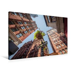 Premium Textil-Leinwand 90 cm x 60 cm quer One Way - New York