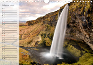 Faszination Island - Landschaftskalender 2020 / Geburtstagskalen