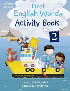 First English Words Activity Book. Pt.2