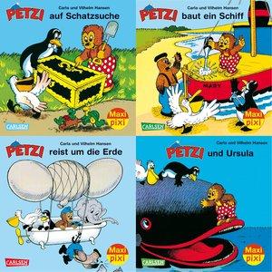 Maxi-Pixi-Serie 34: 4er Bundle: Petzi