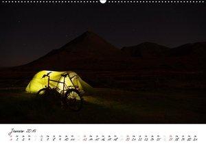 Abenteuer Radreisen (Wandkalender 2019 DIN A2 quer)