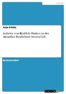 Auftritte von Real-Life-Marken in der virtuellen Parallelwelt Se