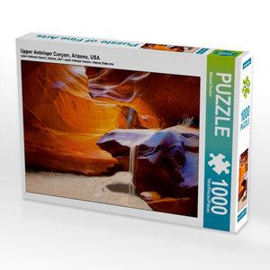 Upper Antelope Canyon, Arizona, USA 1000 Teile Puzzle quer