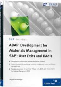 ABAP Development for Materials Management in SAP: User Exits and