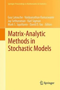 Matrix-Analytic Methods in Stochastic Models