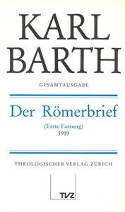 Der Römerbrief 1919